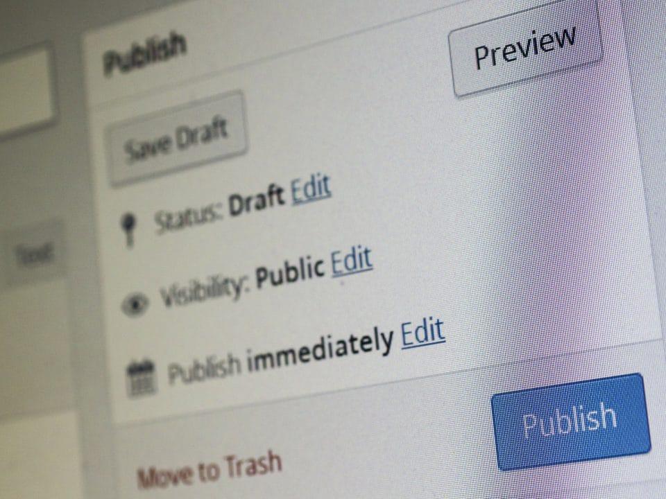 Elegir temas blog